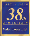Valor Tours 38th anniversary